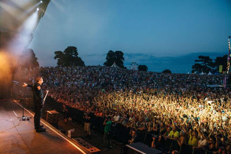 Performing at Rewind Festival North