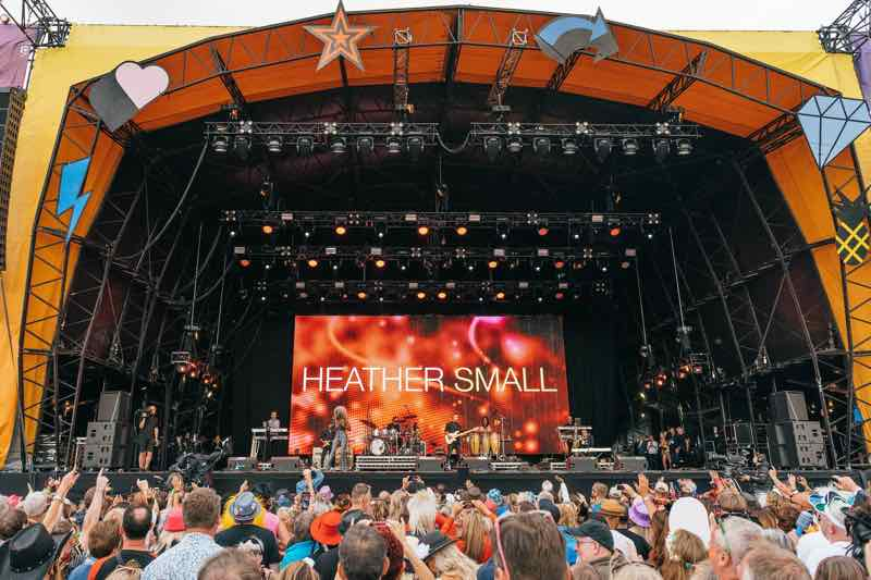Dancing at Rewind Festival South