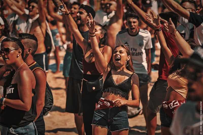 Dancing at RFM Somnii Festival