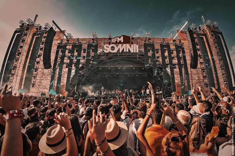 Main stage view at RFM Somnii Festival
