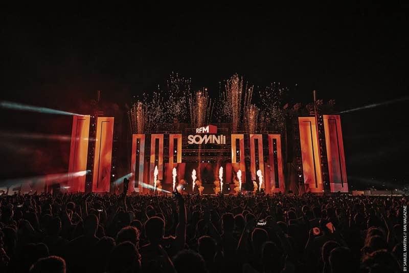 Fireworks at RFM Somnii Festival