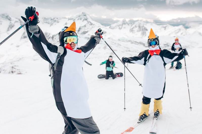 Snow sports at Rise Festival
