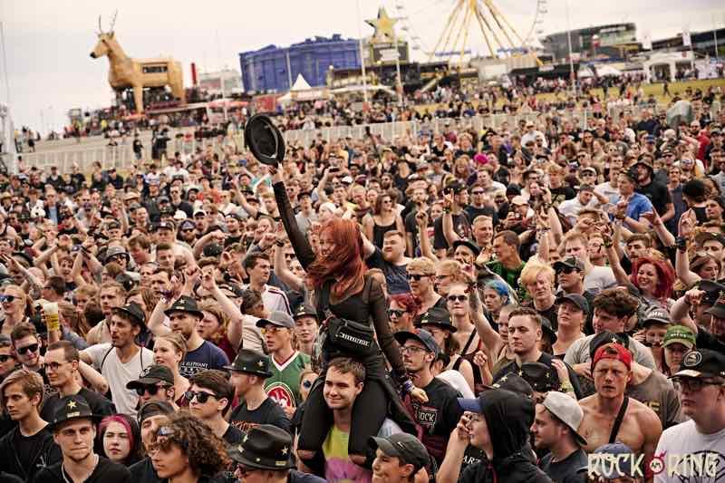 Fans at Rock am Ring Festival
