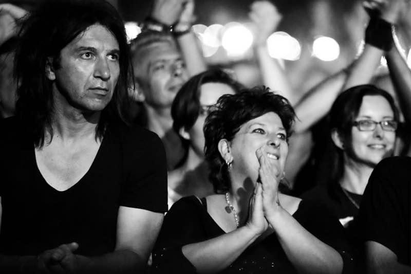fans enjoying at Rock en Seine Festival