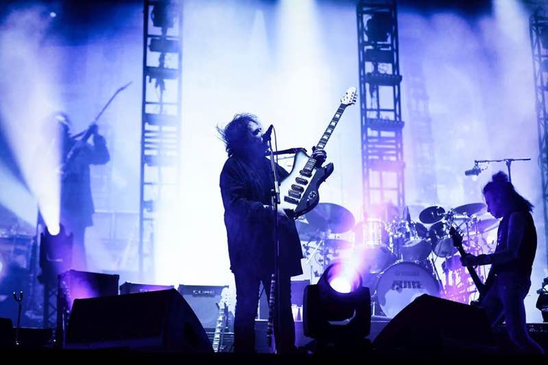 The Cure performing at Rock en Seine Festival