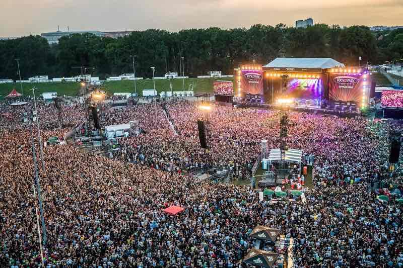 Fans at Rock im Park Festival