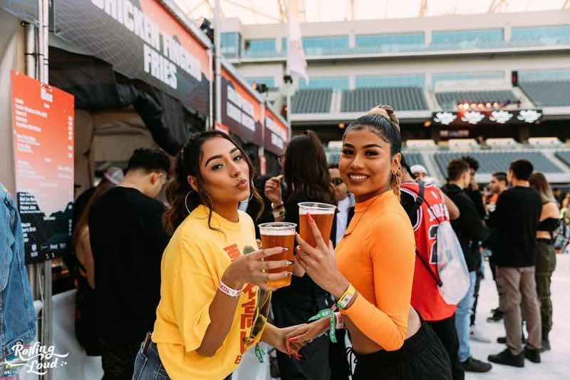 Fans enjoying at Rolling Loud Portugal Festival