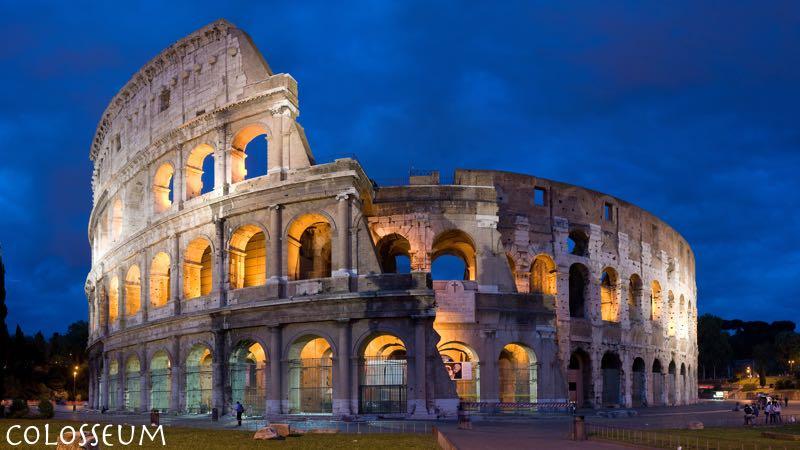 best family destinations Rome Colosseum