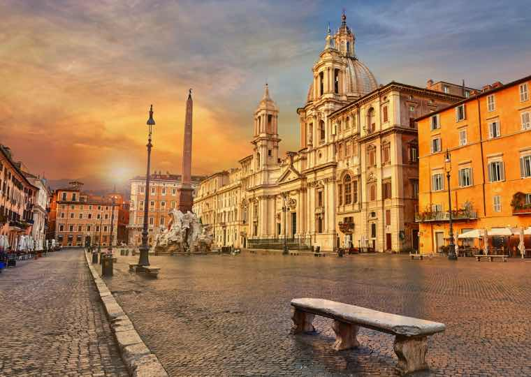 Old Neighbourhood in Rome