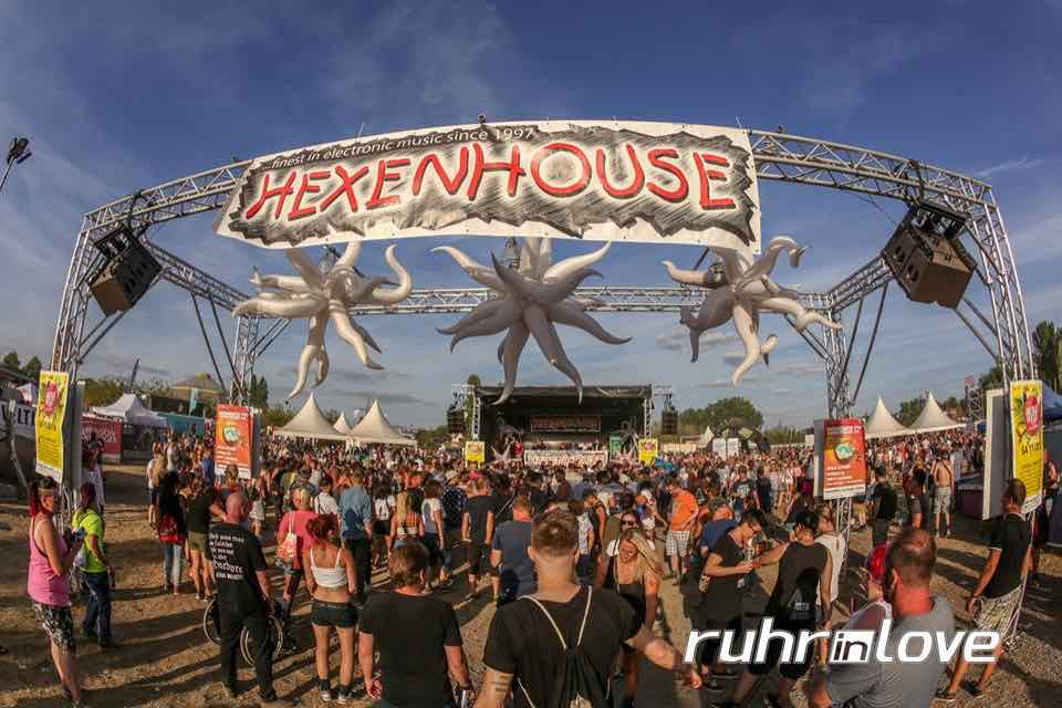 Hexenhouse Stage at Ruhr in Love Festival