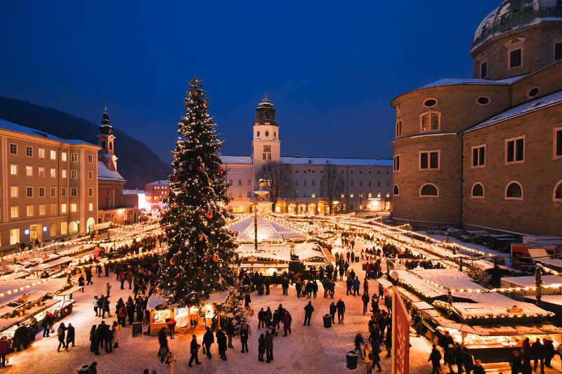 Best Christmas Destinations Salzburg Christmas Market