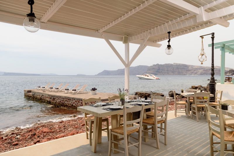 Armeni Restaurant in Santorini Travel Guide