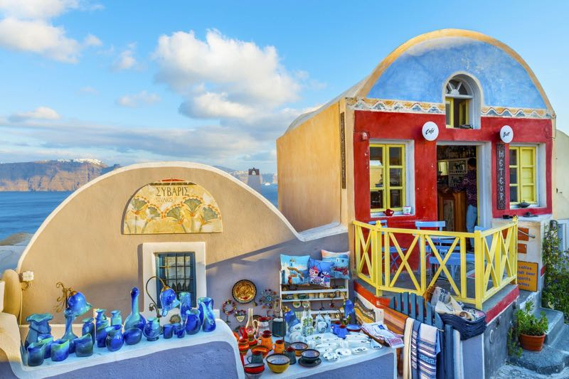 Sivaris Shop in Santorini Travel Guide