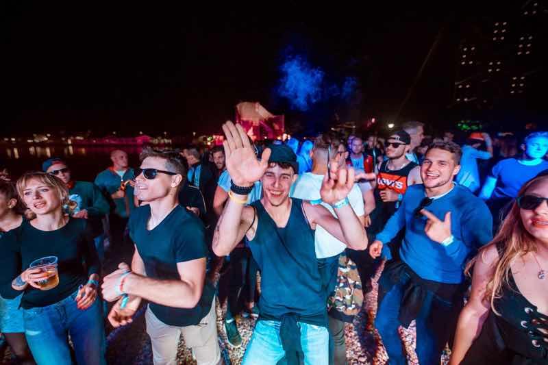 Fans enjoying at Sea Star Festival