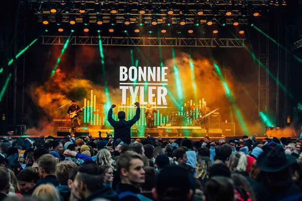 Bonnie Tyler at Secret Solstice Festival