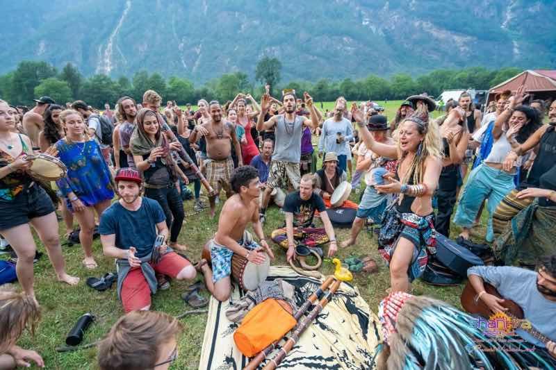 Jamming at Shankra Festival