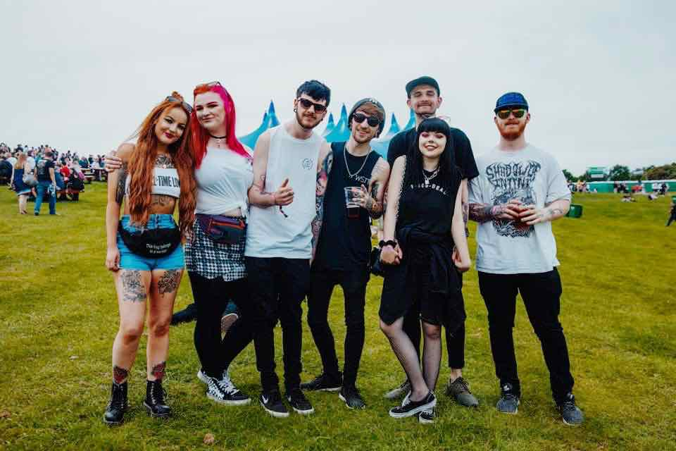 Fans enjoying at Slam Dunk Festival North