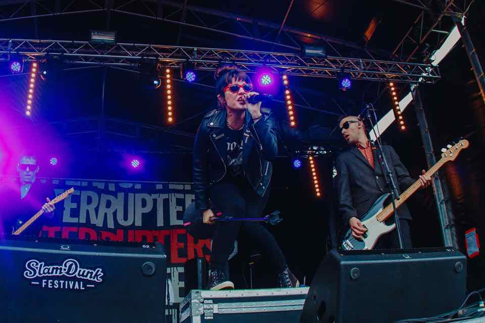 The Interrupters performing at Slam Dunk Festival South