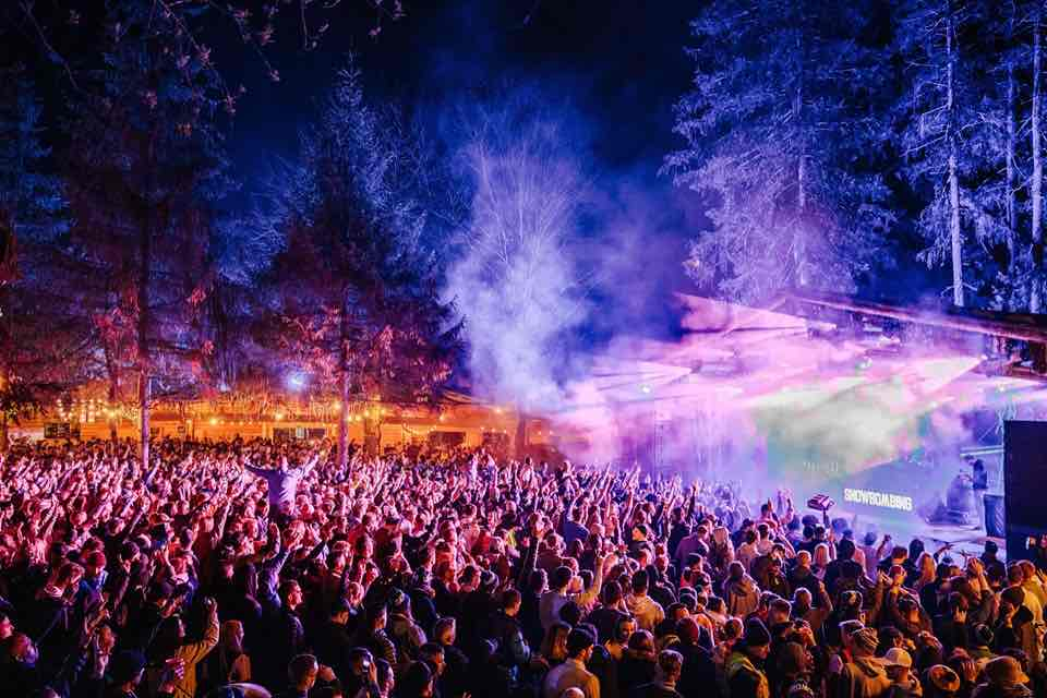Dancing at Snowbombing Festival