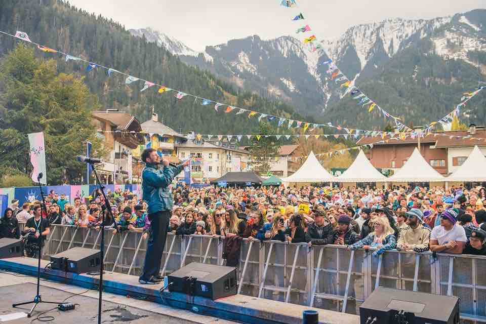 Performing at Snowbombing Festival