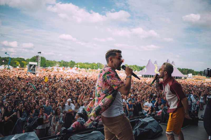 Performing at Solidays Festival