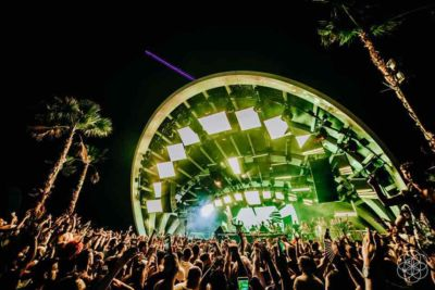 Lights show stage at Sonus Festival