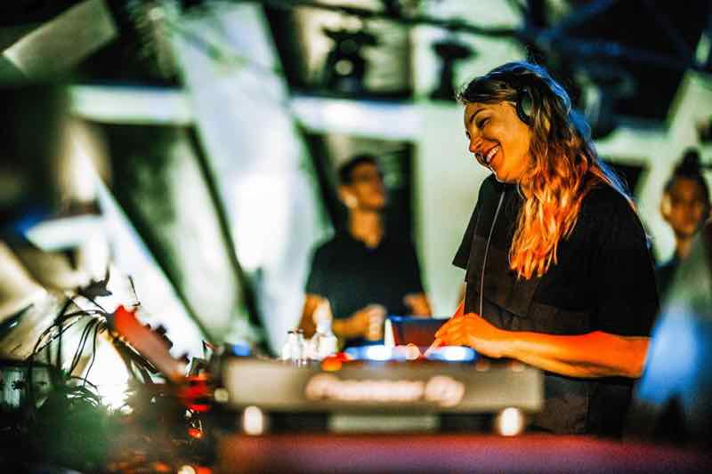 Mixing and smiling at Sonus Festival
