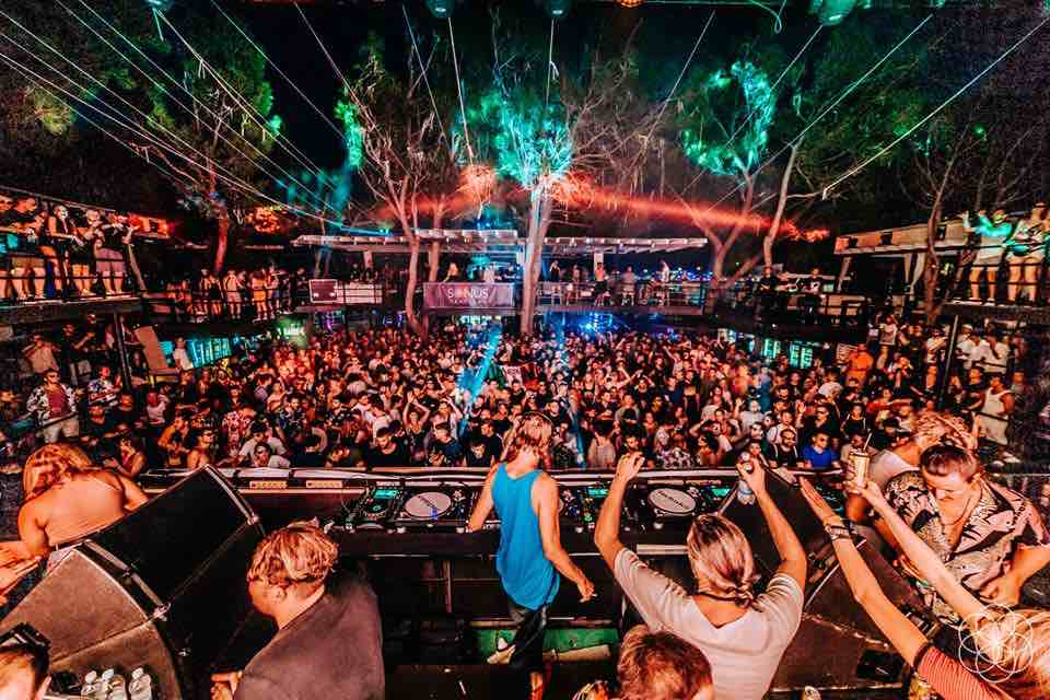 Party stage at Sonus Festival
