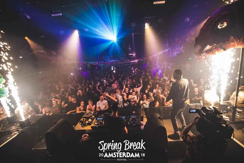 Performing at Spring Break Amsterdam