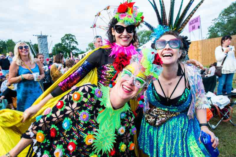 Fans enjoying at Standon Calling Festival