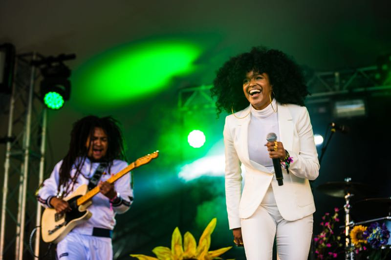 Performing at Standon Calling Festival