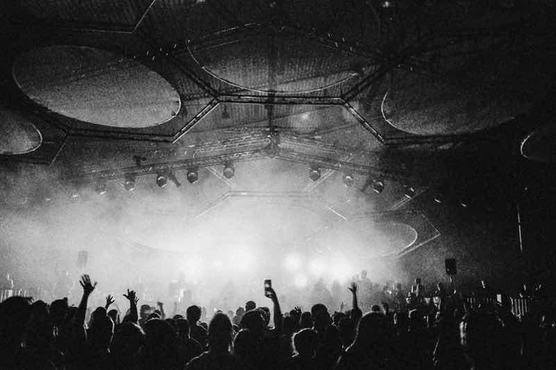 Dancing at Stuttgart Electronic Music Festival