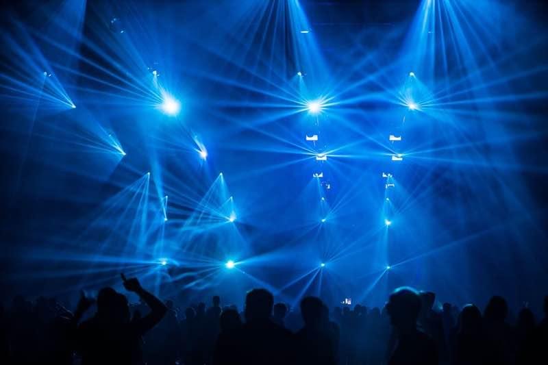 Lights at Stuttgart Electronic Music Festival
