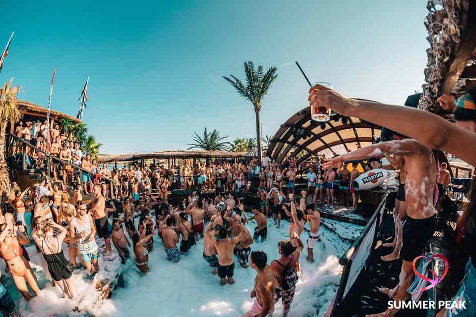 Pool party at Summer Peak Festival