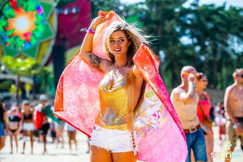 Beauty colours at Sunrise Festival Belgium
