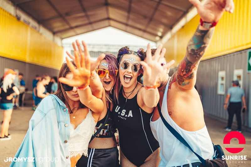 Fans excited at Sunrise Festival