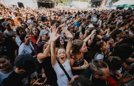 Fans at Szene Openair Festival
