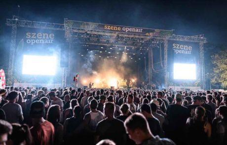 Lights at main stage at Szene Openair Festival