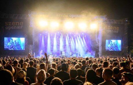 Main stage view at Szene Openair Festival