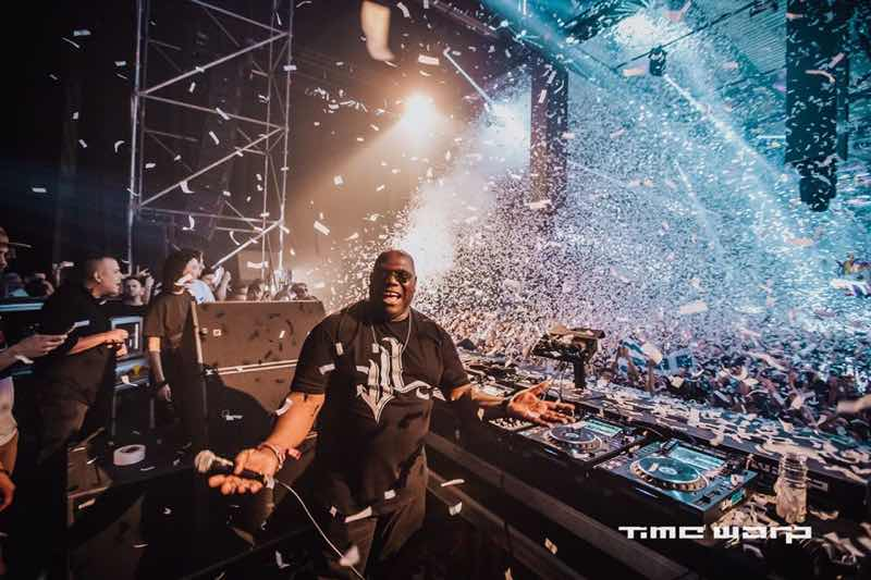 Carl Cox performing at Time Warp DE Festival