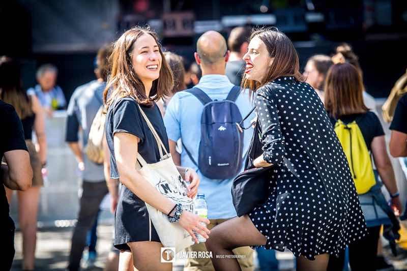 Fans enjoying at Tomavistas Festival