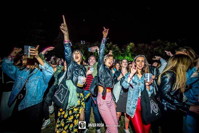 Fans excited at Tomavistas Festival
