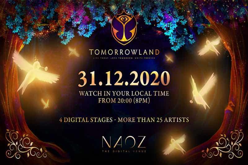 Tomorrowland New Year's Eve Virtual Festival