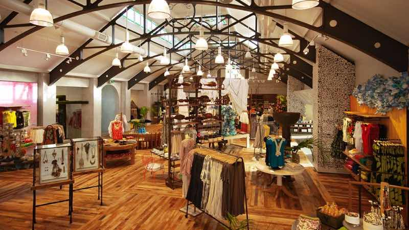 Anthropologie Store in Kings road in London best places to shop