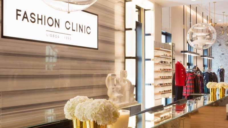Fashion Clinic Store at Avenida da Liberdade in Lisbon top shopping sights