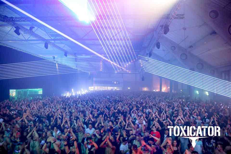 Hall view at Toxicator Festival