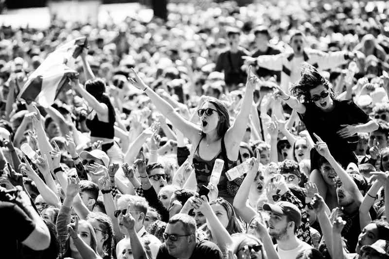 Fans excited at TRNSMT Festival