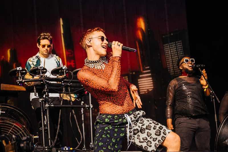 Performing at TRNSMT Festival
