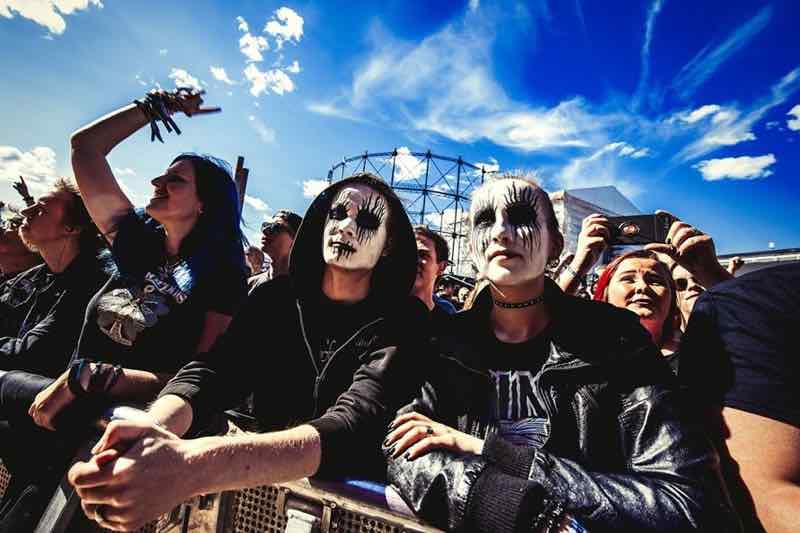 Fans of Tuska Festival