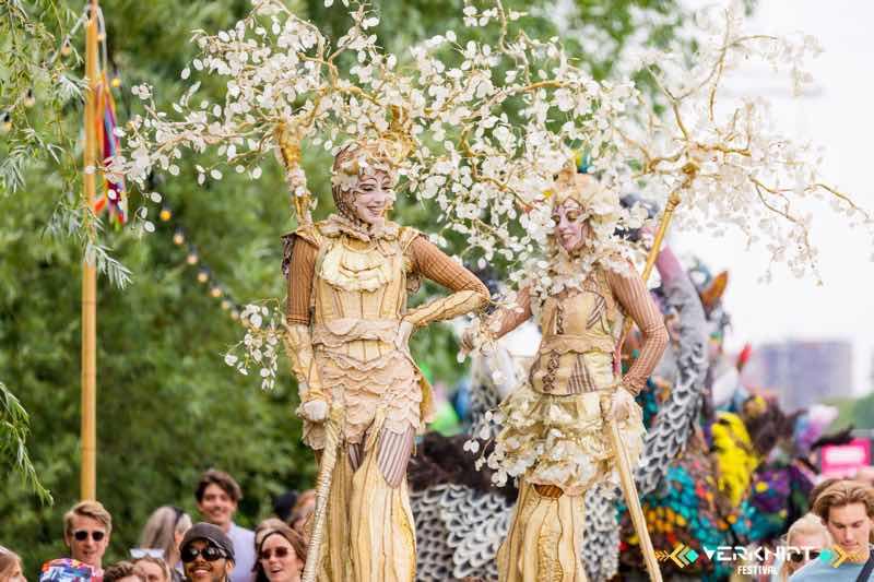 Amazing costumes at Verknipt Festival